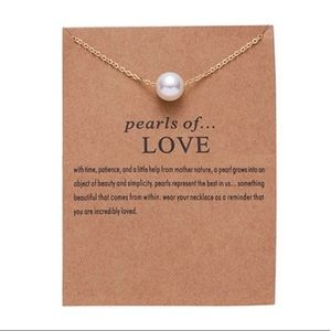 """Jewelry - """"Pearls of Love"""" Necklace"""
